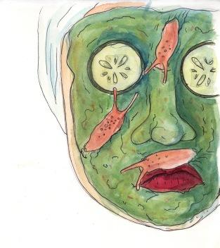 Beauty Slugs - Watercolor