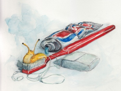 Oral Hygiene - Watercolor