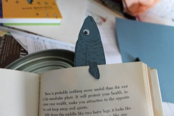 Detail - Sardine Bookmark