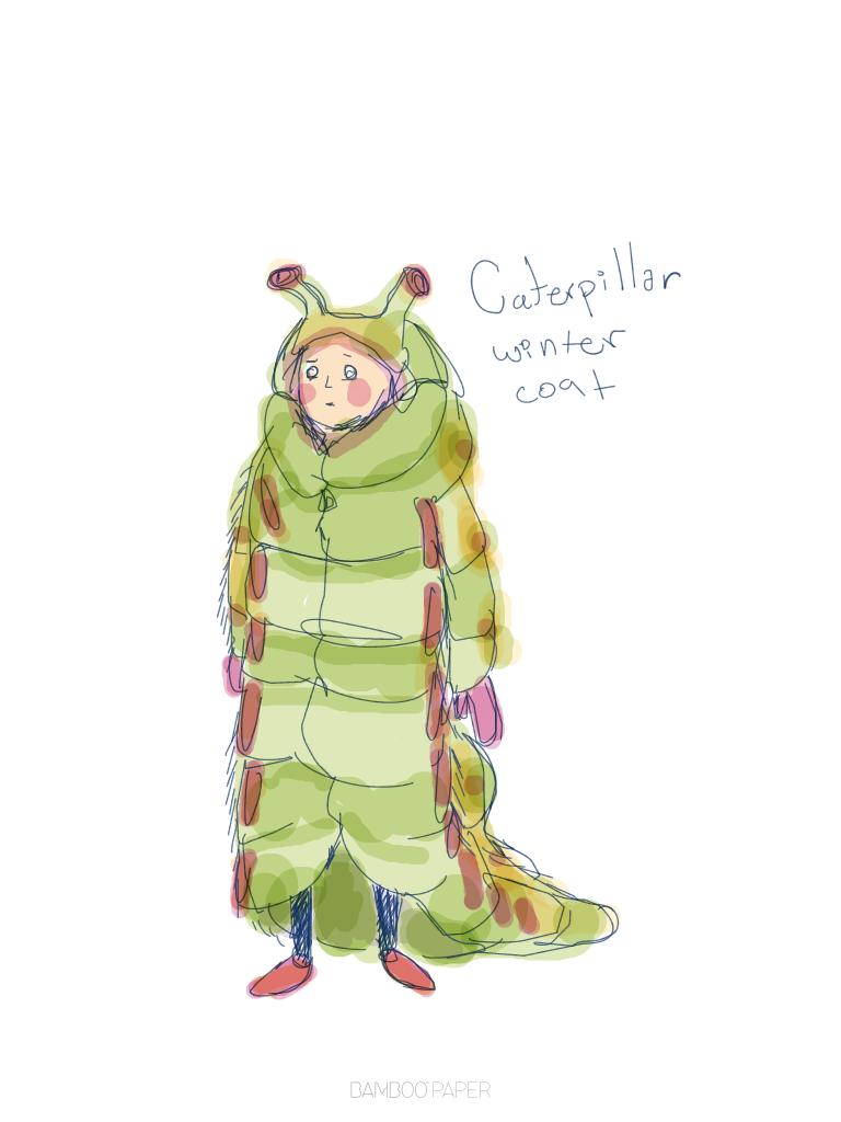 caterpillar fashion